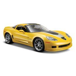 Maisto Chevrolet Corvette Z06 GT1 2009 (1:24) желтый