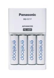 PANASONIC Advanced Charger + Eneloop AA 1900 mAh NI-MH * 4