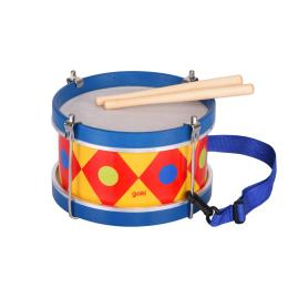 Goki Барабан со шлейкой синий