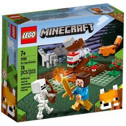 LEGO Minecraft Приключения в тайге 74 детали