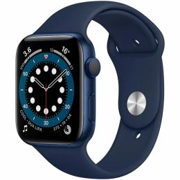 Apple Watch Series 6 GPS, 44mm Blue Aluminium Case with