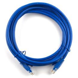 Ritar 5м, RJ-45, Cat.6, CU, медь, синий