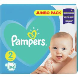 Pampers New Baby Mini Размер 2 (4-8 кг), 94 шт.