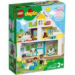 LEGO DUPLO Town Модульный игрушечный дом 129 деталей
