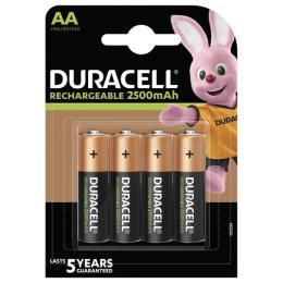 Duracell AA HR6 2500mAh * 4