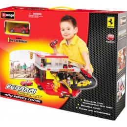 Bburago Гараж Ferrari 2 уровня 1:43