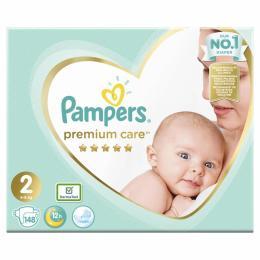 Pampers Premium Care Mini Размер 2 (4-8 кг), 148 шт