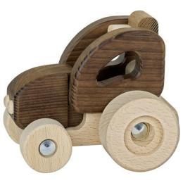 Goki деревянная Трактор (натуральный)