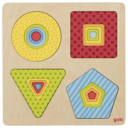 Goki Пазл многослойный - Геометрические фигуры