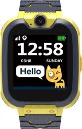 Canyon CNE-KW31BB Kids smartwatch Tony, Yellow-Grey