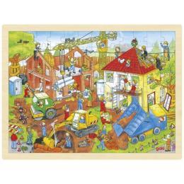 Goki деревянный Строительная площадка