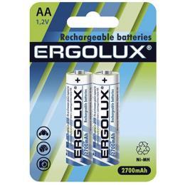 ERGOLUX AA 2700 mAh Ni-MH * 2 R6/2bl