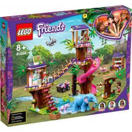 LEGO Friends Джунгли: штаб спасателей 648 деталей