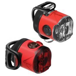 Lezyne Femto USB Drive Pair 15/5 Lm Red