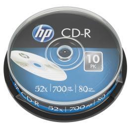 HP CD-R 700MB 52X 25шт Spindle