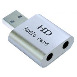 Dynamode USB-SOUND7-ALU silver