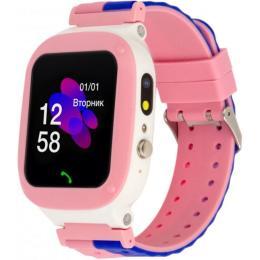 ATRIX iQ2200 IPS Cam Flash Pink Kids smart watch-phone,