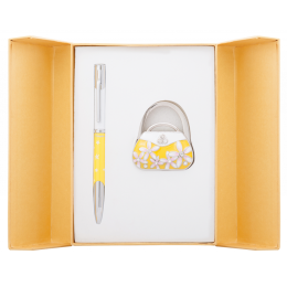Langres набор ручка + крючок для сумки Sense Желтый
