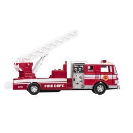 Goki металлическая Пожарная машина лестница красная