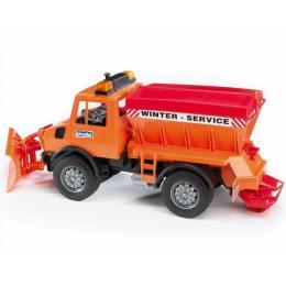 Bruder снегоуборочный автомобиль MB Unimog, М1:16