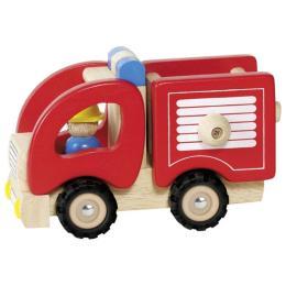 Goki деревянная Пожарная (красный)