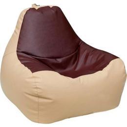 ПРИМТЕКС ПЛЮС кресло-груша Simba H-2201/H-002 S Beige-Brown