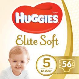 Huggies Elite Soft 5 Mega 56 шт