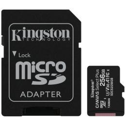 Kingston 256GB microSD class 10 A1 Canvas Select Plus