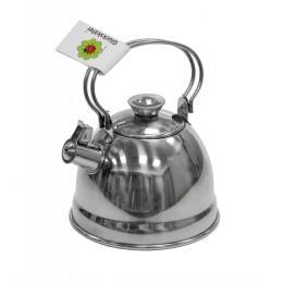 nic чайник со свистком металлический (11 см)