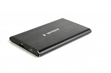 """GEMBIRD 2.5"""", USB3.0, черный"""