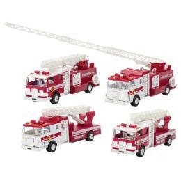 Goki металлическая Пожарная машина Бочка с лестницей бе