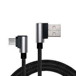 REAL-EL USB 2.0 AM to Micro 5P 1.0m Premium black