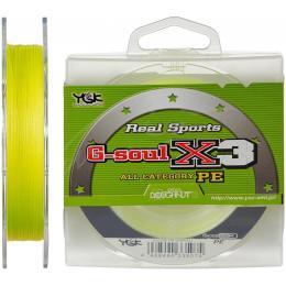 YGK G-Soul X3 150m Yellow 0.8/0.148mm 13lb