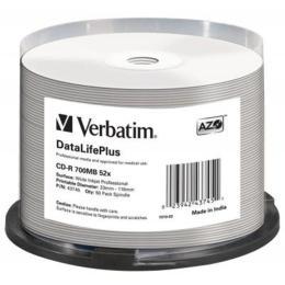 Verbatim 700Mb 52x Cake box Printable