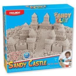 Paulinda Песок для творчества Sandy clay Sandy Замок 600г 1