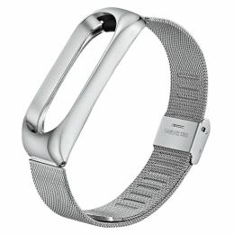 BeCover Metal для Xiaomi Mi Smart Band 5 Silver