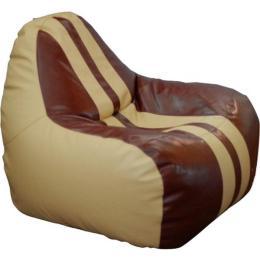ПРИМТЕКС ПЛЮС кресло-груша Simba H-2201/H-002 M Beige-Brown