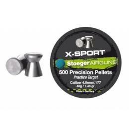 Stoeger X-Sport Flat 4.5мм/177 0.48g (500шт.)