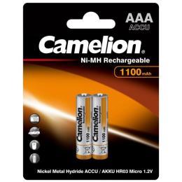 Camelion AAA 1100mAh Ni-MH * 2 R03-2BL