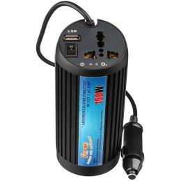 12V/220V 150W, USB, ионизатор, Black