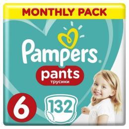 Pampers трусики Pants Giant Размер 6 (15+ кг) 132 шт