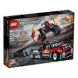 LEGO Technic Шоу трюков на грузовиках и мотоциклах 610