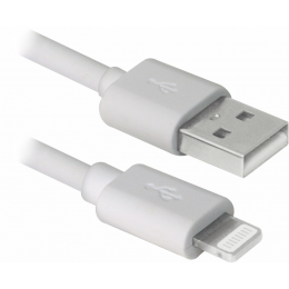 Defender USB 2.0 AM to Lightning 3.0m ACH01-10BH white