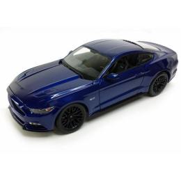 Maisto Ford Mustang GT 2015 (1:24) синий