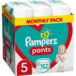 Pampers трусики Pants Junior Размер 5 (12-17 кг) 152 шт
