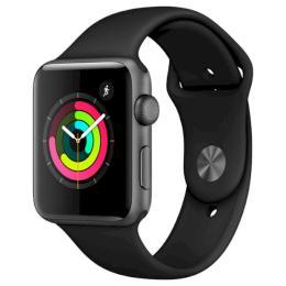 Apple Watch Series 3 GPS, 42mm Space Grey Aluminium Case