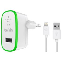 Belkin USB Home Charger (2.4Amp) w/cable Lightening to US