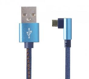 Cablexpert USB 2.0 AM to Micro 5P 1.0m corner