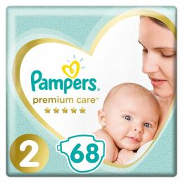Pampers Premium Care Mini Размер 2 (4-8 кг), 68 шт