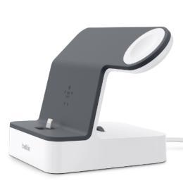 PowerHouse iWatch + iPhone, white